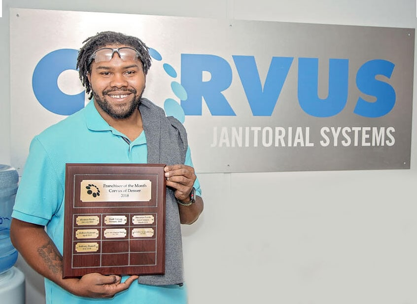 successful franchise owner receives award