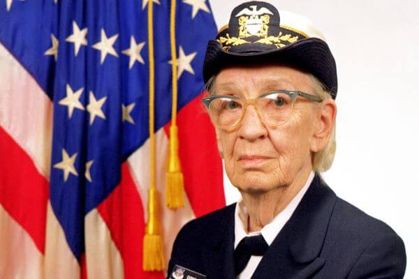 Grace Hopper United States Navy