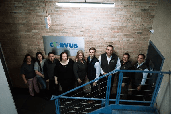 Corvus Franchise Owners and employees